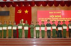 Desmantelan en Vietnam red de narcotráfico transnacional