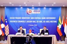 Sesiona XXIV Reunión de Ministros de Finanzas de la ASEAN