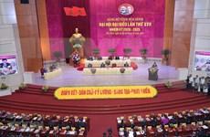 Participa presidenta de Parlamento vietnamita en XVII asamblea partidista provincial de Hoa Binh
