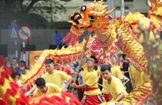 Festival de Danza del Dragón en saludo al 1010 aniversario de fundación de Thang Long-Hanoi