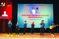 Celebran en Hanoi festival cultural y artístico entre jóvenes creyentes y de minorías étnicas