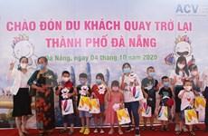 Da Nang recibe a primeros turistas domésticos tras cierre por COVID-19