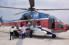 Trasladan enfermo por avión desde archipiélago Truong Sa