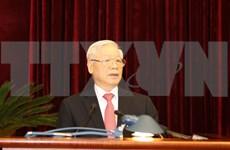 Inauguran XIII pleno del Comité Central del Partido Comunista de Vietnam