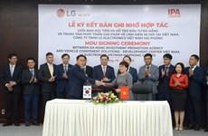 Ciudad de Da Nang coopera con Grupo LG en investigación y desarrollo electrónico