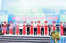 Presentan productos en mil 400 pabellones en Exposición Internacional de construcción en Hanoi