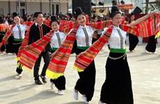 """""""Melodías de la selva"""" resuenan en Aldea de Cultura y Turismo de las Etnias Minoritarias de Vietnam"""