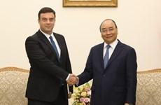 Primer ministro de Vietnam recibe a embajador israelí