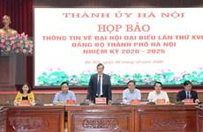 Hanoi dispuesta a celebrar la XVII asamblea de su Comité partidista