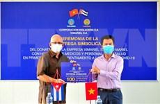 Empresa vietnamita aporta lucha cubana contra COVID-19