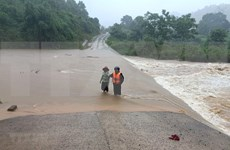Cinco personas mueren por inundaciones en Vietnam