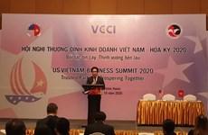Efectúan Cumbre Empresarial Vietnam-Estados Unidos
