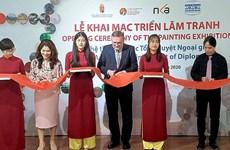 Exponen en Vietnam obras de famosos pintores húngaros