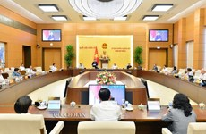 Celebrarán 49 reunión del Comité Permanente de Asamblea Nacional de Vietnam