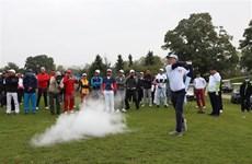 Torneo amistoso de golf marca los 45 años de lazos entre Vietnam y Alemania