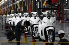 Disminuyen ventas de motocicletas en Vietnam