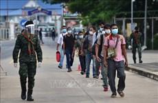 Tailandia refuerza el control de COVID-19 en 10 provincias fronterizas con Myanmar