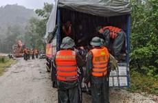 Aceleran rescate de víctimas por deslizamiento de tierra en provincia vietnamita