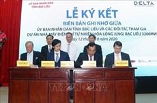 Construirán central termoeléctrica de gas multimillonario en provincia vietnamita de Bac Lieu