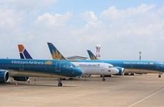 Aerolíneas vietnamitas reajustan plan de operación de vuelos debido al tifón Nangka