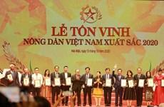 Honran a granjeros destacados en Vietnam por sus contribuciones al crecimiento agrícola
