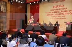 Concluye la XVII Asamblea del Comité partidista de Hanoi
