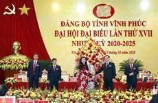 Más de 340 delegados asisten a XVII asamblea del Comité partidista en provincia vietnamita de Vinh Phuc