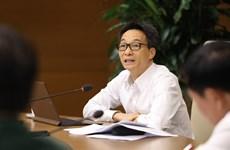 Viceprimer ministro vietnamita pide fortalecer medidas contra COVID-19