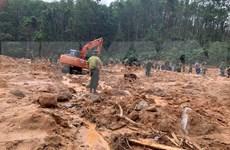 Recuperan tres cuerpos en área de deslizamientos de tierra en provincia vietnamita