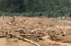 Detectan más cuerpos en área de deslizamientos de tierra en provincia vietnamita de Thua Thien-Hue