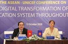 Debaten cambio digital en sistemas educacionales de la ASEAN
