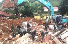 Primer ministro de Vietnam exige mayores esfuerzos para superar consecuencias de deslaves de tierra