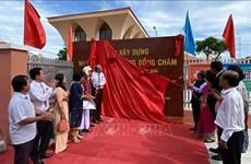 Inaguran casa de actividades comunitarias del grupo étnico Cham en provincia vietnamita
