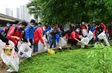 """Lanzan campaña """"Día Mundial de la Limpieza 2020"""" en Hanoi"""