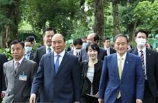 Medio japonés destaca visita del primer ministro Yoshihide Suga a Vietnam
