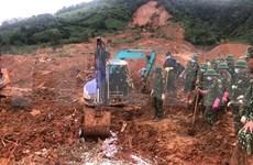 Recuperan 22 cuerpos sin vida de soldados sepultados por deslave en localidad centrovietnamita