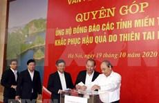 Realiza Oficina Gubernamental de Vietnam donativo para respaldar a pobladores en región central