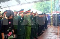 Realizan sepelio de soldados fallecidos en incidente en provincia centrovietnamita