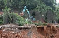 Hallan 16 cuerpos sin vida de soldados desaparecidos por deslave en provincia centrovietnamita