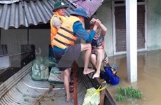 Laos y Tailandia expresan condolencias a Vietnam ante pérdidas causadas inundaciones