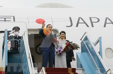 Primer ministro japonés concluye visita a Vietnam