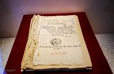 Otorgan al Museo de Ho Chi Minh dos obras en idioma italiano sobre presidente Ho Chi Minh