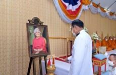 Tailandia conmemora el natalicio de la difunta Princesa Srinagarindra