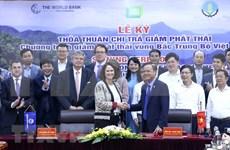 Vietnam y el Banco Mundial firman acuerdo de pago por reducción de emisiones