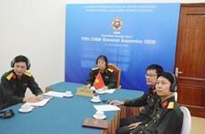 Participa Vietnam en Asamblea General del Consejo Internacional de Deporte Militar