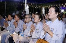 Comunidad de vietnamitas en Laos organiza réquiem en homenaje a personas fallecidas por desastres naturales