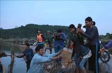 Cruz Roja de Hanoi recauda fondos a ayudar a población afectada por desastres naturales