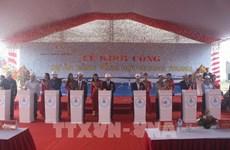 Inician proyecto del puerto general capaz de acoger a buques de gran tonelaje en Vietnam