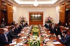 Vietnam da la bienvenida a inversores estadounidenses