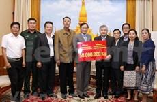 Apoyan vietnamitas mitigación de consecuencias de inundaciones en Laos